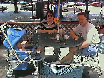 """Lunch on Pennsylvania Avenue at TGI Friday's. The service was unbelievably poor, which KK """"the terminator"""" pointed out to the manager. He knocked $15 off our bill and almost had the waitress in tears."""