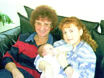 Sue, Kathy & Sydney