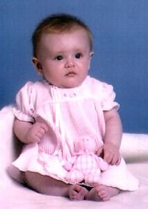 Sydney's 4-month portrait.