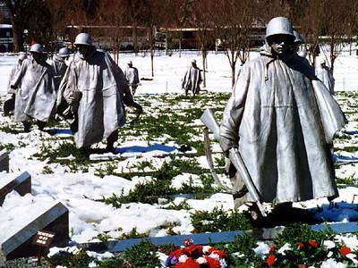 Korean War Veterans Memorial.