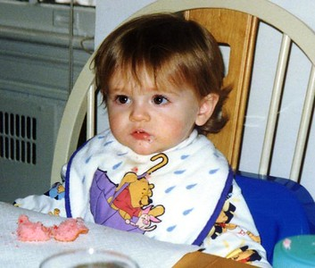 Sydney Jean Kane during her first birthday party.