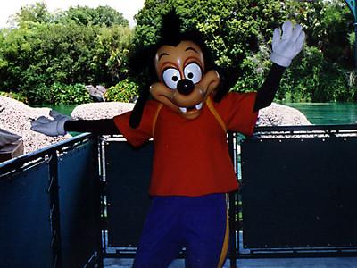 Goofy's son, Max, at Walt Disney World