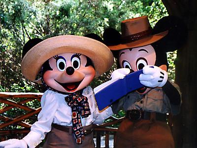 Mickey & Minnie at Walt Disney World.