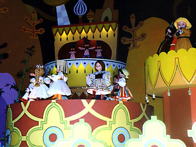 """""""It's a small world..."""" That's one song that just sticks in your head for the rest of the day."""