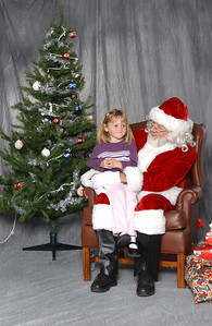Sydney with Santa at the NFESC Christmas Party.