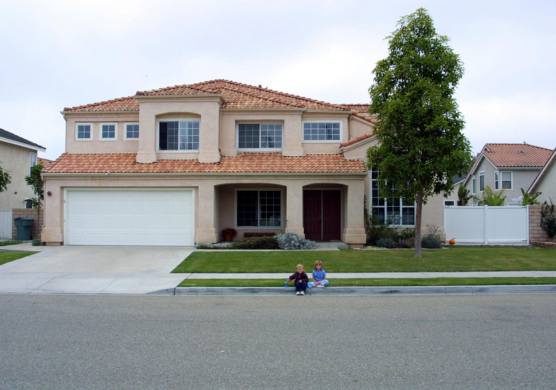 Our home in Oxnard, California