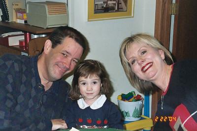 John, Rachel and Cheryl