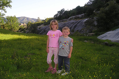 Sydney and Christopher Kane after our hike around Wagon Cave in the Los Padres National Forest.