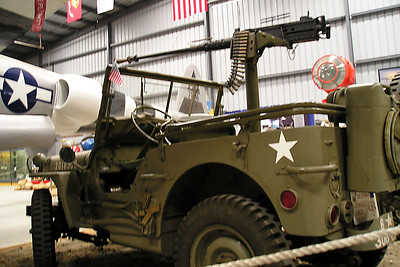 The kids wouldn't let Dad take any more pictures, but that didn't apply to them. Christopher Kane took this picture of a World War II Jeep at the World War II Aviation Museum at Camarillo Airport. The museum is operated by the Southern California Wing of the Commerative Air Force.