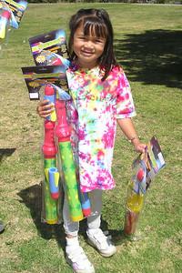Sierra, one of the kindergarten graduates.