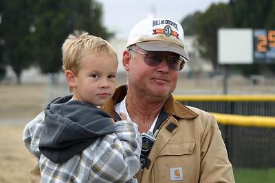 Joe and Paula Roth's son, Liam, with Uncle Frank.