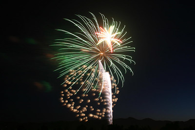 For such a small town, King City does a pretty good job on the fireworks.