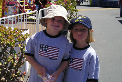 Christopher and Sydney Kane enjoying the day at the Ventura County Fair.