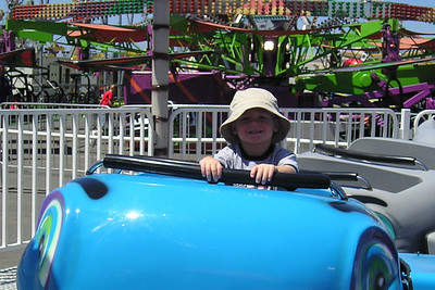Christopher Kane enjoying the day at the Ventura County Fair.