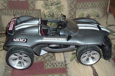 Christopher Kane's remote control race car.