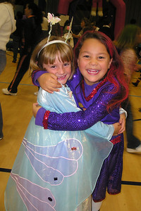 Sydney and Alanna at the Halloween Party at St. John's.