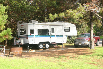 Camping at El Capitan State Beach for Veteran's Day and the following weekend.