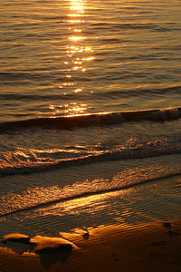 Sunset at El Capitan State Beach