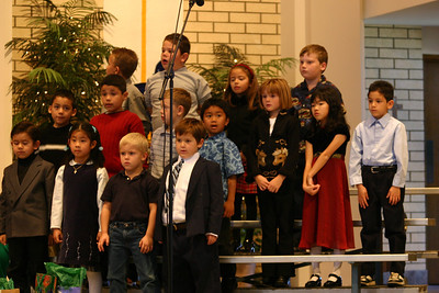 Sydney at St. John's Christmas Program