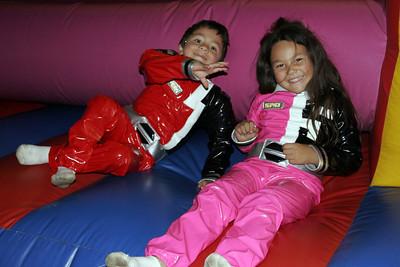 Halloween 2005. Jaison and Alanna.