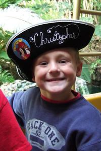 Christopher enjoying the Jungle Cruise.