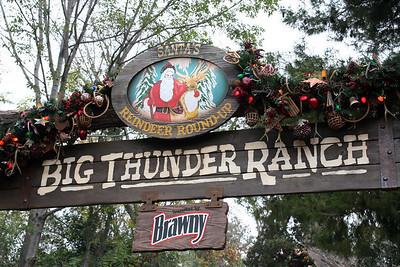Santa's Reindeer Round-up at the Big Thunder Ranch.