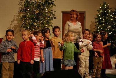 First Baptist Day School 2005 Christmas Program.