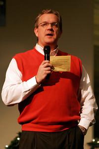 Pastor Newman. First Baptist Day School 2005 Christmas Program.