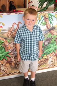 Christopher's 1st day in Kindergarten