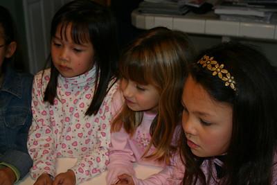 Sydney's 7th Birthday Party. Sierra, Nicole and Alanna.