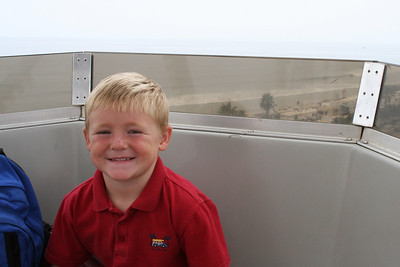 Christopher on the big ferris wheel at the 2005 Ventura County Fair.