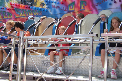 Sydney going for another ride at the 2005 Ventura County Fair.