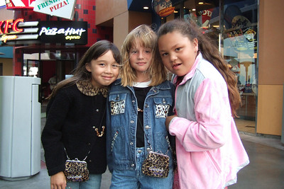 Alanna, Sierra and Sydney were taken on a surprise trip by their moms to see Hannah Montana and the Cheetah Girls in concert! They had a great time and couldn't talk about anything else for weeks.