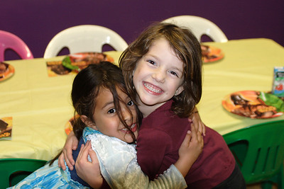 Samila and Gillian at Christopher's 6th birthday party at the Ventura YMCA.