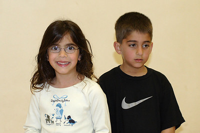Natalie and Zaid at Christopher's 6th birthday party at the Ventura YMCA.