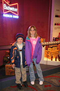 Christopher and Sydney enjoying a tour of the Anheuser-Busch brewery in Fort Collins.