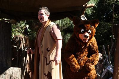 """The Magic of Brother Bear"" show at Disney's California Adventure Park."