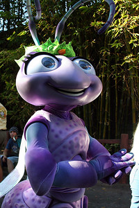Princess Atta in Disney's California Adventure Park.