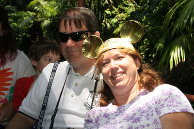 John and Tracy on the Jungle Cruise