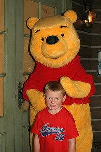 Christopher and Winnie the Pooh