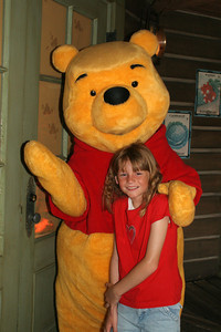 Sydney and Winnie the Pooh