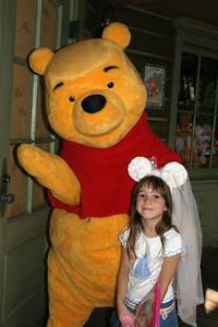 Rachel and Winnie the Pooh