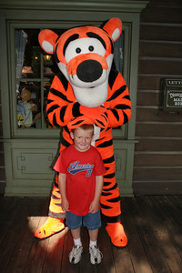Christopher and Tigger