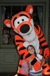 Rachel and Tigger