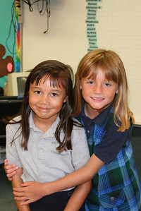 Sierra and Sydney's first day back to school for the 2006-2007 school year at St. John's Lutheran School.