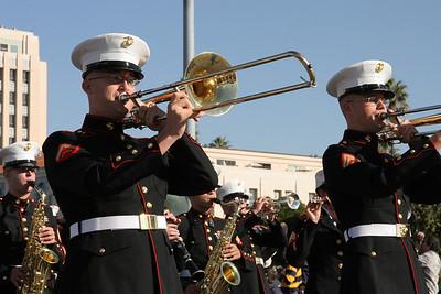 USMC Band. 2006 Port of San Diego Big Bay Balloon Parade
