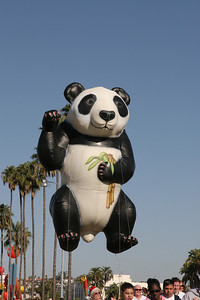 San Diego Zoo's Giant Panda. 2006 Port of San Diego Big Bay Balloon Parade