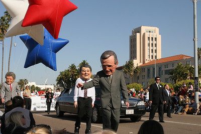 Presidents. 2006 Port of San Diego Big Bay Balloon Parade