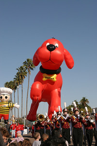 Clifford the Big Red Dog. 2006 Port of San Diego Big Bay Balloon Parade