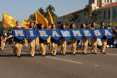 Mira Mesa High School Band. 2006 Port of San Diego Big Bay Balloon Parade